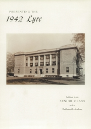 Page 5, 1942 Edition, Charles W Baker High School - Lyre Yearbook (Baldwinsville, NY) online yearbook collection