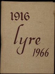 Charles W Baker High School - Lyre Yearbook (Baldwinsville, NY) online yearbook collection, 1966 Edition, Page 1