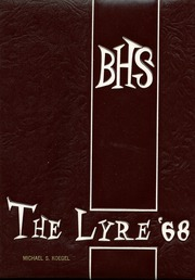 Charles W Baker High School - Lyre Yearbook (Baldwinsville, NY) online yearbook collection, 1968 Edition, Page 1