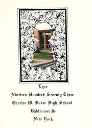 Page 5, 1973 Edition, Charles W Baker High School - Lyre Yearbook (Baldwinsville, NY) online yearbook collection