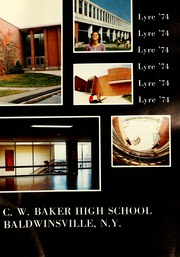 Page 5, 1974 Edition, Charles W Baker High School - Lyre Yearbook (Baldwinsville, NY) online yearbook collection