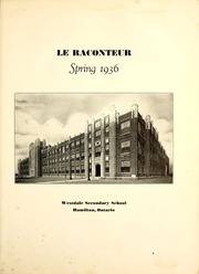 Page 11, 1936 Edition, Westdale Secondary School - Le Raconteur Yearbook (Hamilton, Ontario Canada) online yearbook collection