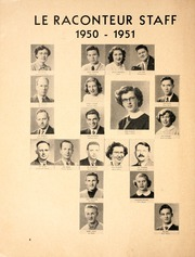Page 10, 1951 Edition, Westdale Secondary School - Le Raconteur Yearbook (Hamilton, Ontario Canada) online yearbook collection