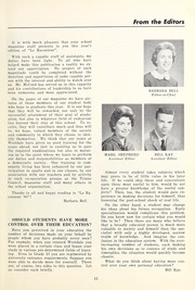 Page 11, 1960 Edition, Westdale Secondary School - Le Raconteur Yearbook (Hamilton, Ontario Canada) online yearbook collection