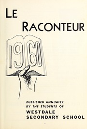 Page 3, 1960 Edition, Westdale Secondary School - Le Raconteur Yearbook (Hamilton, Ontario Canada) online yearbook collection