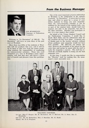 Page 15, 1962 Edition, Westdale Secondary School - Le Raconteur Yearbook (Hamilton, Ontario Canada) online yearbook collection
