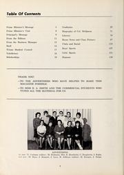Page 6, 1962 Edition, Westdale Secondary School - Le Raconteur Yearbook (Hamilton, Ontario Canada) online yearbook collection