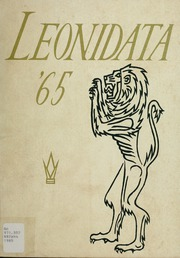 1965 Edition, Aldershot Secondary School - Leonidata Yearbook (Burlington, Ontario Canada)