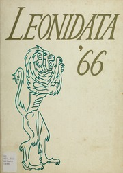 1966 Edition, Aldershot Secondary School - Leonidata Yearbook (Burlington, Ontario Canada)