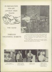 Page 14, 1955 Edition, Vincennes Lincoln High School - Lincoln Log Yearbook (Vincennes, IN) online yearbook collection