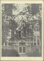 Page 5, 1955 Edition, Vincennes Lincoln High School - Lincoln Log Yearbook (Vincennes, IN) online yearbook collection