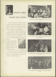Page 8, 1955 Edition, Vincennes Lincoln High School - Lincoln Log Yearbook (Vincennes, IN) online yearbook collection