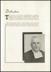 Page 5, 1947 Edition, Bishop Loughlin Memorial High School - Loughlinite Yearbook (Brooklyn, NY) online yearbook collection