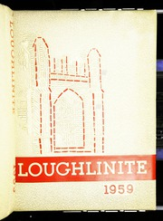 Bishop Loughlin Memorial High School - Loughlinite Yearbook (Brooklyn, NY) online yearbook collection, 1959 Edition, Page 1