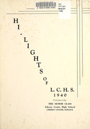 Page 7, 1940 Edition, Liberty Center High School - Memories Yearbook (Liberty Center, IN) online yearbook collection