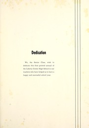 Page 9, 1940 Edition, Liberty Center High School - Memories Yearbook (Liberty Center, IN) online yearbook collection