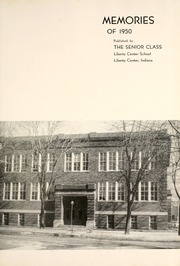 Page 5, 1950 Edition, Liberty Center High School - Memories Yearbook (Liberty Center, IN) online yearbook collection