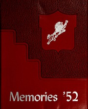 1952 Edition, Liberty Center High School - Memories Yearbook (Liberty Center, IN)