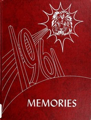 1961 Edition, Liberty Center High School - Memories Yearbook (Liberty Center, IN)