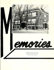 Page 5, 1963 Edition, Liberty Center High School - Memories Yearbook (Liberty Center, IN) online yearbook collection