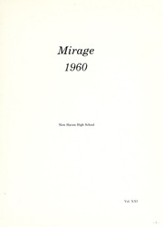 Page 5, 1960 Edition, New Haven High School - Mirage Yearbook (New Haven, IN) online yearbook collection
