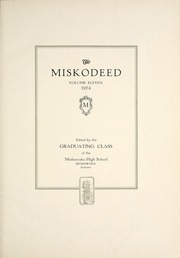 Page 7, 1924 Edition, Mishawaka High School - Miskodeed Yearbook (Mishawaka, IN) online yearbook collection