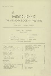 Page 7, 1933 Edition, Mishawaka High School - Miskodeed Yearbook (Mishawaka, IN) online yearbook collection