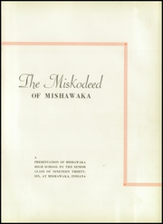 Page 5, 1936 Edition, Mishawaka High School - Miskodeed Yearbook (Mishawaka, IN) online yearbook collection