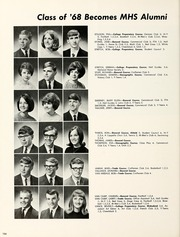 Page 140, 1968 Edition, Mishawaka High School - Miskodeed Yearbook (Mishawaka, IN) online yearbook collection