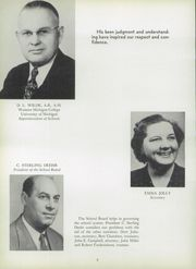 Page 12, 1952 Edition, Manistee High School - Manichigan Yearbook (Manistee, MI) online yearbook collection