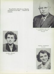 Page 13, 1952 Edition, Manistee High School - Manichigan Yearbook (Manistee, MI) online yearbook collection
