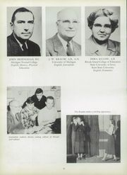 Page 14, 1952 Edition, Manistee High School - Manichigan Yearbook (Manistee, MI) online yearbook collection