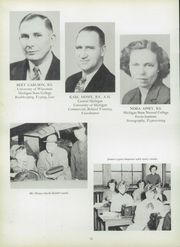 Page 16, 1952 Edition, Manistee High School - Manichigan Yearbook (Manistee, MI) online yearbook collection
