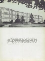 Page 7, 1952 Edition, Manistee High School - Manichigan Yearbook (Manistee, MI) online yearbook collection