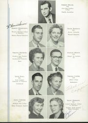 Page 14, 1953 Edition, Manistee High School - Manichigan Yearbook (Manistee, MI) online yearbook collection