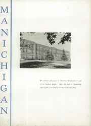 Page 6, 1953 Edition, Manistee High School - Manichigan Yearbook (Manistee, MI) online yearbook collection