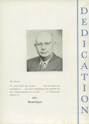 Page 7, 1953 Edition, Manistee High School - Manichigan Yearbook (Manistee, MI) online yearbook collection