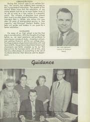 Page 13, 1958 Edition, Manistee High School - Manichigan Yearbook (Manistee, MI) online yearbook collection