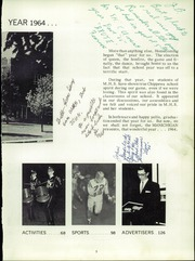 Page 7, 1964 Edition, Manistee High School - Manichigan Yearbook (Manistee, MI) online yearbook collection