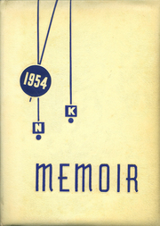 New Knoxville High School - Memoir Yearbook (New Knoxville, OH) online yearbook collection, 1954 Edition, Page 1