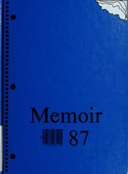 New Knoxville High School - Memoir Yearbook (New Knoxville, OH) online yearbook collection, 1987 Edition, Page 1
