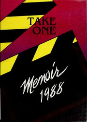 Page 1, 1988 Edition, New Knoxville High School - Memoir Yearbook (New Knoxville, OH) online yearbook collection