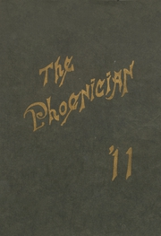 Page 1, 1911 Edition, Phoenix Union High School - Phoenician Yearbook (Phoenix, AZ) online yearbook collection