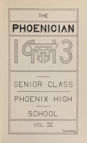 Page 9, 1913 Edition, Phoenix Union High School - Phoenician Yearbook (Phoenix, AZ) online yearbook collection
