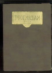 1923 Edition, Phoenix Union High School - Phoenician Yearbook (Phoenix, AZ)