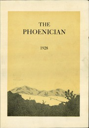 Page 7, 1928 Edition, Phoenix Union High School - Phoenician Yearbook (Phoenix, AZ) online yearbook collection