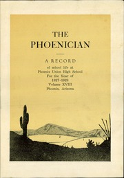 Page 9, 1928 Edition, Phoenix Union High School - Phoenician Yearbook (Phoenix, AZ) online yearbook collection