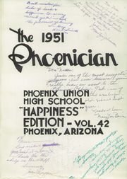 Page 7, 1951 Edition, Phoenix Union High School - Phoenician Yearbook (Phoenix, AZ) online yearbook collection