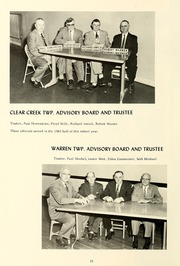 Page 18, 1963 Edition, Clear Creek High School - Memoriae Yearbook (Huntington, IN) online yearbook collection