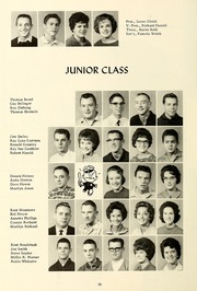 Page 32, 1963 Edition, Clear Creek High School - Memoriae Yearbook (Huntington, IN) online yearbook collection